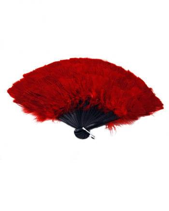 Marabu Feder Fächer rot