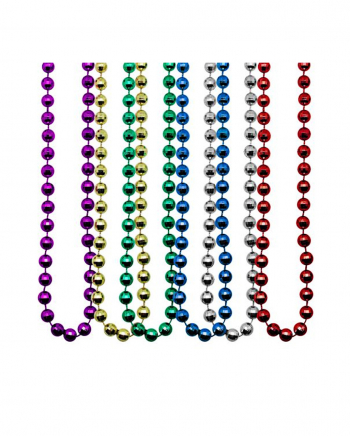 Mardi Gras Chains Disco Ball Effect 12 Pcs.