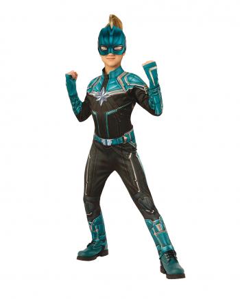 Captain Marvel Kree Kinderkostüm Blau
