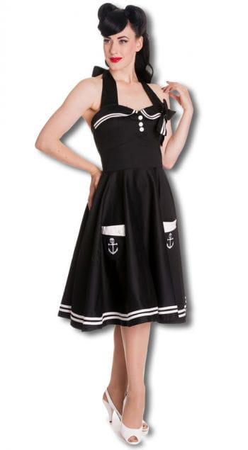 Matrosen Petticoatkleid schwarz