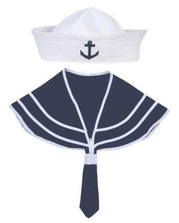 Sailors set white / blue