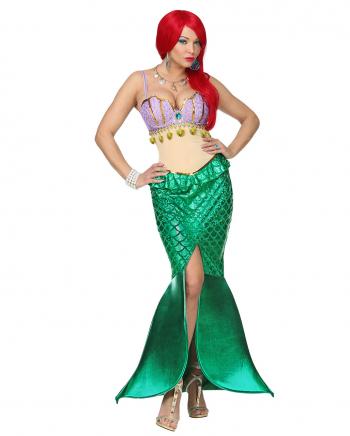 Meerjungfrau Deluxe Damenkostüm