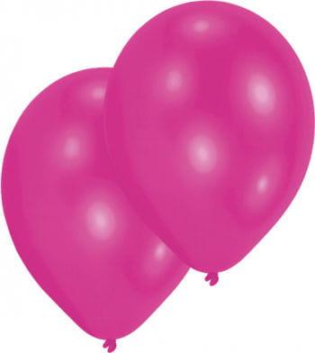 Metallic magenta Luftballons 50 St.