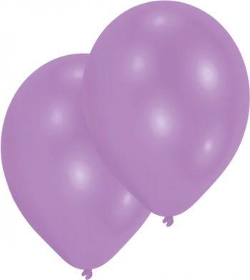 Metallic violettte Luftballons 50 St.