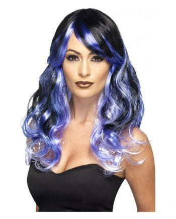 Midnight Siren Wig Purple and Black