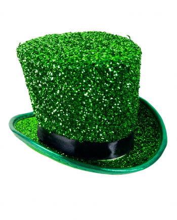 Leprechaun Glitter Mini-cylinder Green