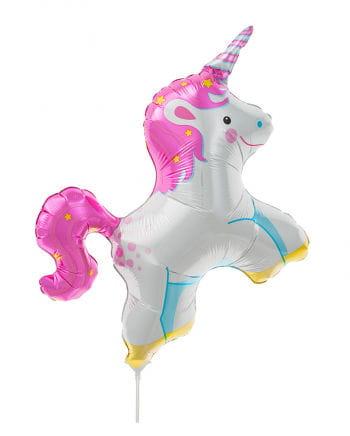 Mini foil balloon Unicorn