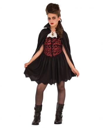 Miss Vampire children's costume