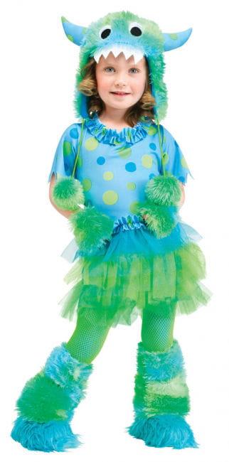 Miss Monster Kleinkinderkostüm