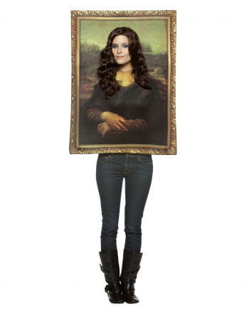 mona lisa portrait costume buy online now horror. Black Bedroom Furniture Sets. Home Design Ideas