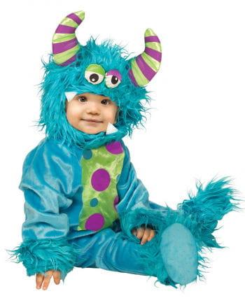 Blaues Monster Babykostüm