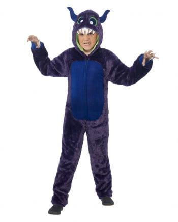 Monster Kids Costume Purple