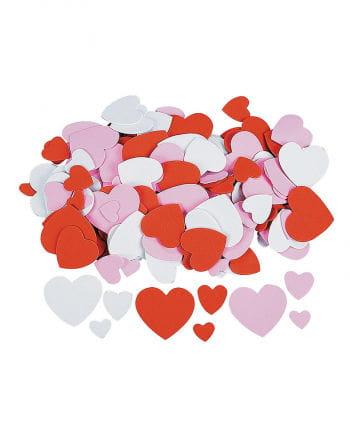 Foam rubber heart
