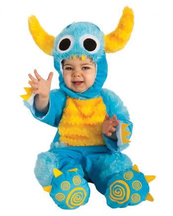 Keks Monster Babykostüm blau
