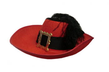 Musketeer Hat Red