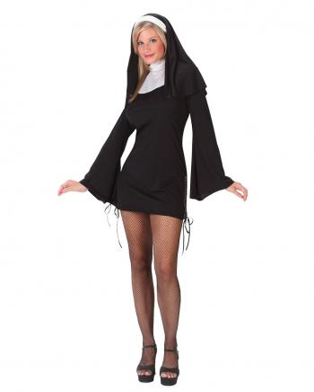 Naughty Nun Damenkostüm