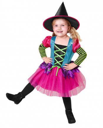 Neon Witch Child Costume