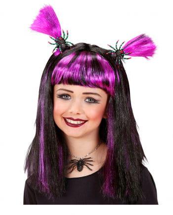 Halloween Kids Wig purple
