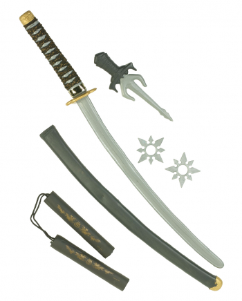 Ninja Spielzeugwaffen Set