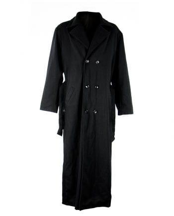 Nosferatu Mantel aus Wolle Schwarz