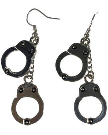 Earrings With Handcuffs