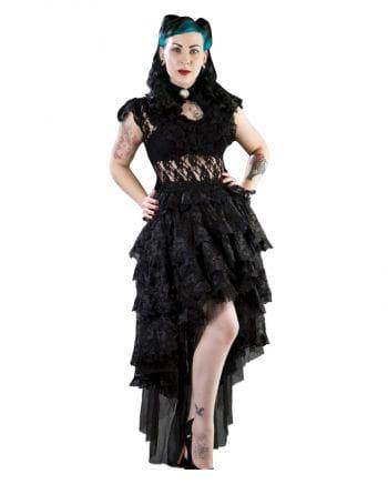 Burleska black lace skirt Ophelie