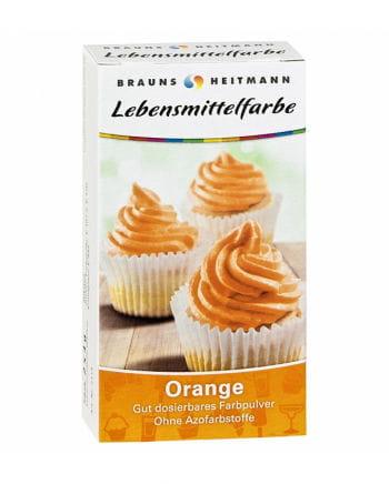 Food color orange