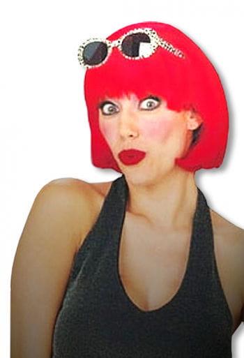 Pageboy Wig Red