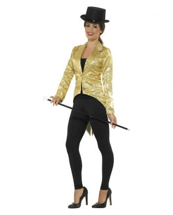 Sequin Tail For Women Gold