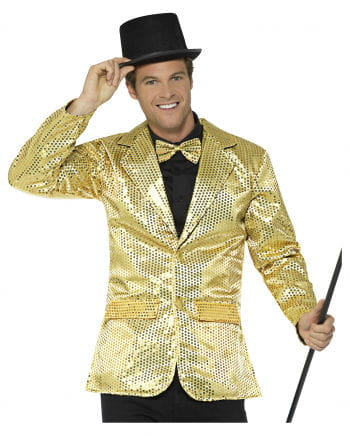 Sequin Tail For Men Gold
