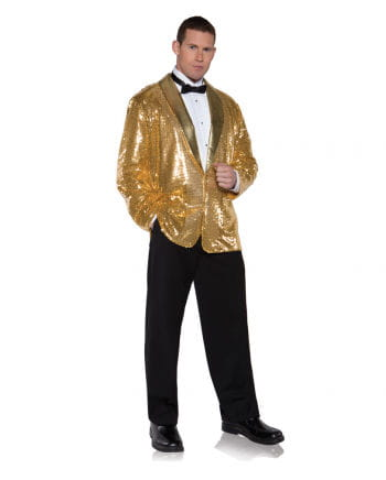 Pailletten Jacket gold