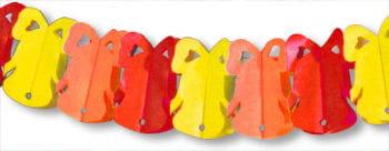 Osterglocken Girlande rot-gelb-orange