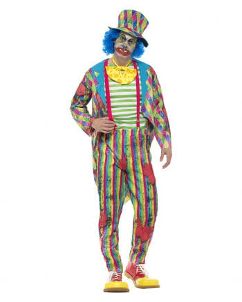 Patchwork Horror Clown Deluxe Costume