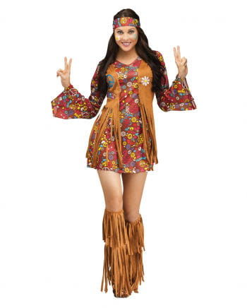 Peace & Love hippie dress