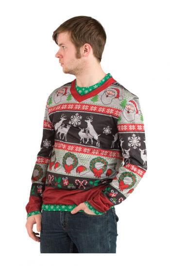 Embarrassing Christmas sweater T-shirt