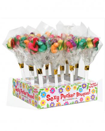 Penis Lutscher Bouquet 6 Stück