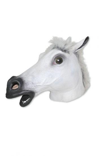Pferde Maske Weiß