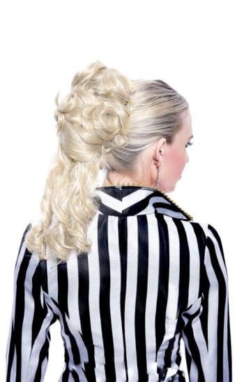 Ponytail hairpiece blond