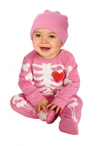 Pink Skeleton Baby Costume