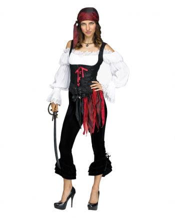 Pirate Costume Pants Black