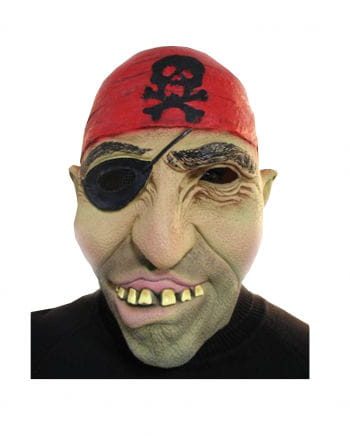 Pirate mask with eye flap