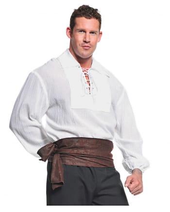 Pirate Costume Shirt white