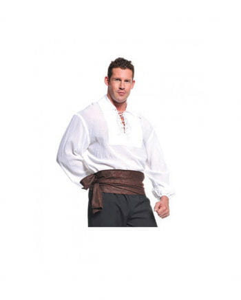 Pirate costume white shirt