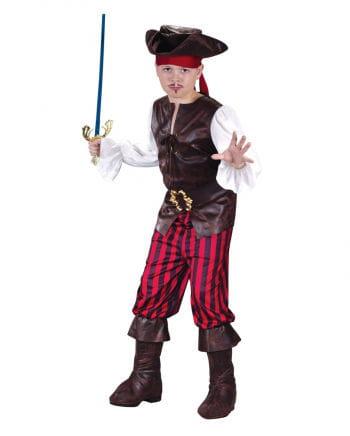Piraten Deluxe Kinderkostüm Gr. M