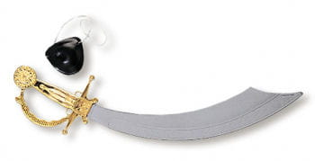 Pirate Sword and Eye Patch