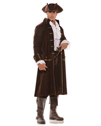 Pirate Captain Costume Brown