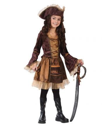 Piratenlady Kinderkostüm Gr. L