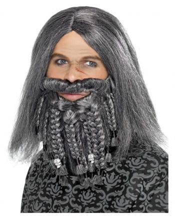 Pirates & Vikings wig with beard