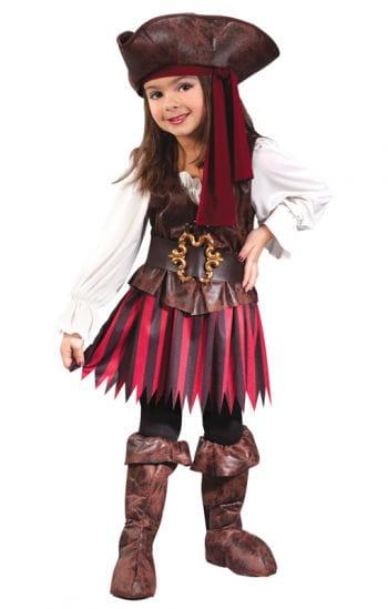 Piratin Kleinkindkostüm