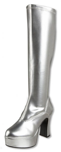 Plateau Stiefel silber 37 UK 6 US 8